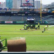 Crew Transforms Comerica Park Into Soccer Pitch