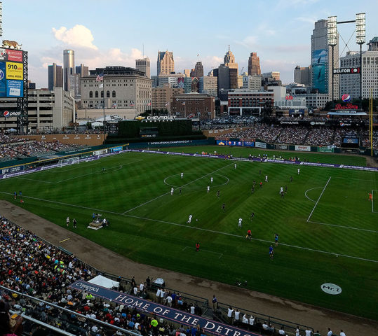 Tigers' Home Hosts International Soccer Game