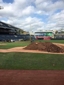 Bush Turf does Kansas City Royals field renovation