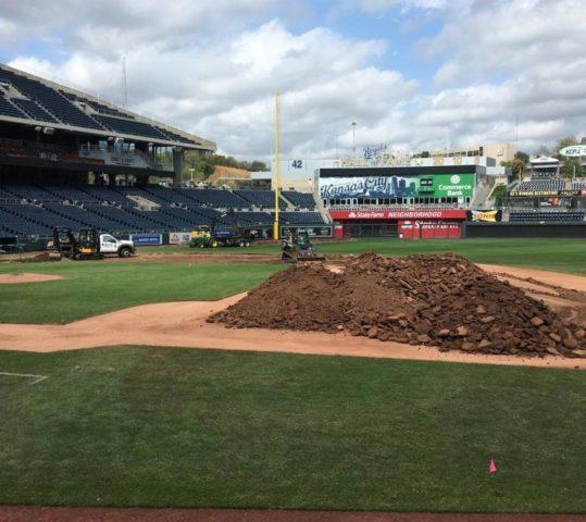 """Bush Turf Takes On """"Massive Overhaul"""" of Kauffman Stadium"""