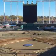 Watch Bush Turf's Renovation of Kauffman Stadium in 30 Seconds