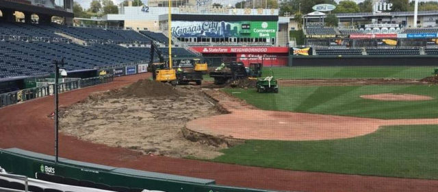 "Bush Turf Takes On ""Massive Overhaul"" of Kauffman Stadium"
